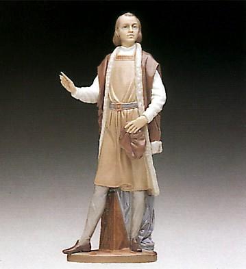 LladroThe Great Adventurer 1993-94Porcelain Figurine