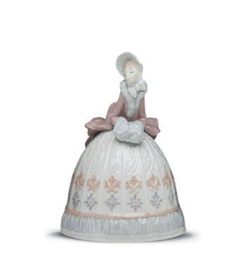 Lladro Sounds Of Winter 1993-01 Porcelain Figurine