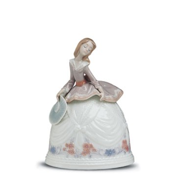 Lladro Sounds Of Autumn/fall 1993-01 Porcelain Figurine