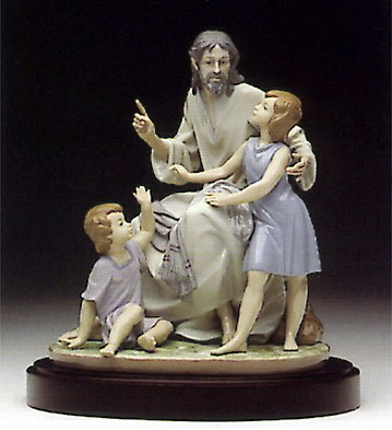 LladroThe Great Teacher 1996-96Porcelain Figurine