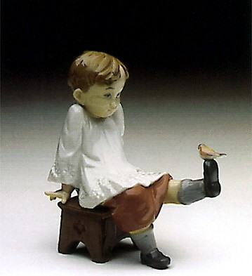 Lladro Talk To Me 1993-98 Porcelain Figurine