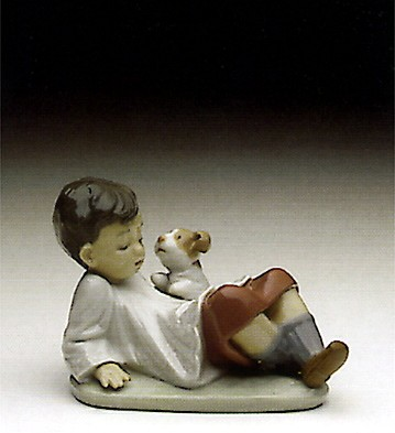 Lladro Taking Time 1993-98 Porcelain Figurine