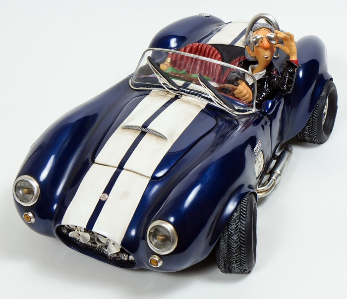 Guillermo Forchino Shelby Cobra 1/2 Scale