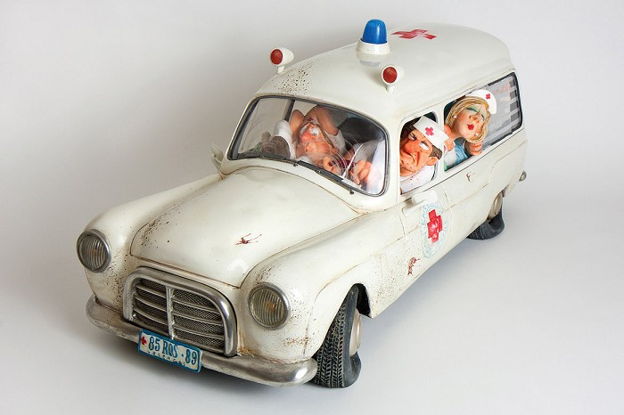 Guillermo ForchinoThe Ambulance 1/2 Scale