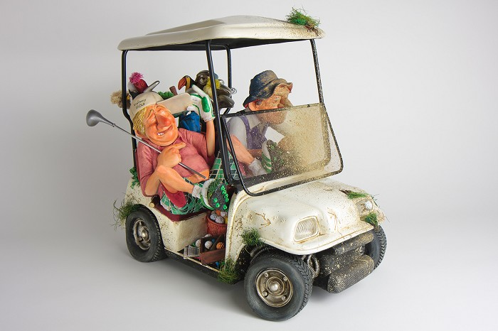 Guillermo Forchino The Buggy Buddies 1/2 Scale