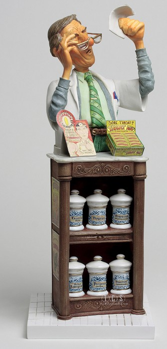 Guillermo ForchinoThe Pharmacist