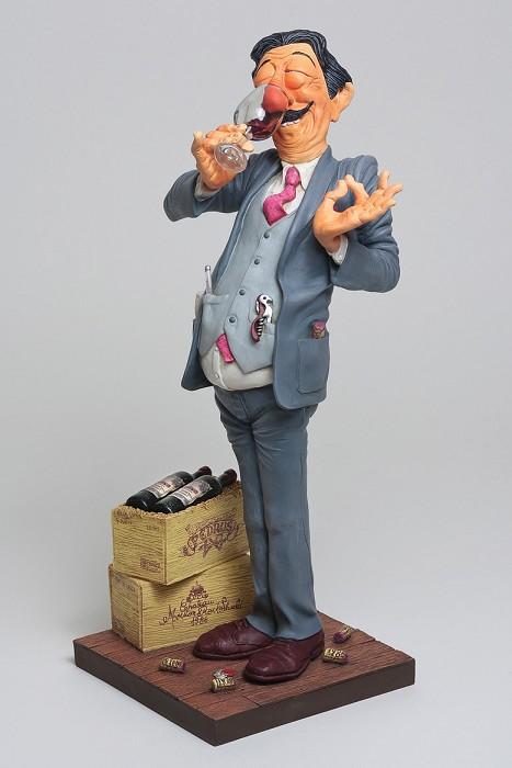 Guillermo Forchino The Wine Taster 1/2 Scale