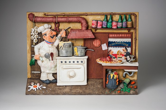 Guillermo ForchinoFine Dining / La Bonne Cuisine Wall Art