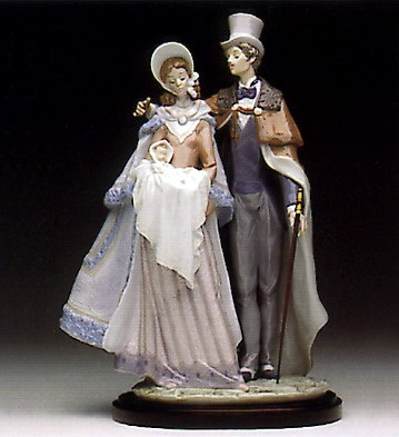 Lladro Christening Day 1993-95 Porcelain Figurine
