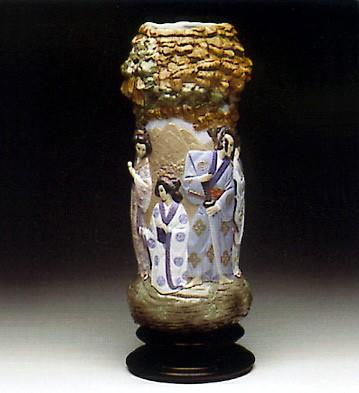 LladroOriental Colonnade 1993-95Porcelain Figurine