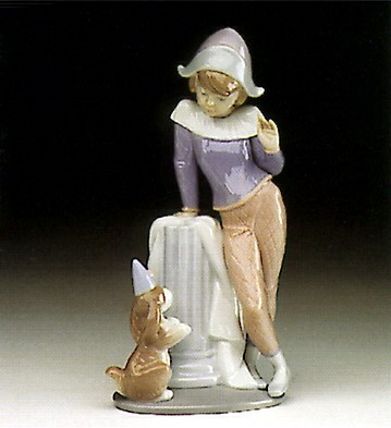 Lladro Tuesday's Child (boy) 1993-97 Porcelain Figurine
