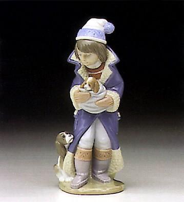 LladroFriday Child (Boy) 1982-97Porcelain Figurine