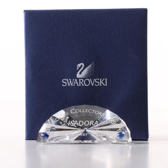 Swarovski CrystalIsadora 2002 Title Plaque in English