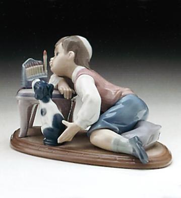 LladroHanukkah Lights 1993-99Porcelain Figurine