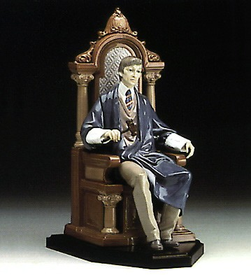 Lladro Hand Of Justice Le1000 1993-97 Porcelain Figurine
