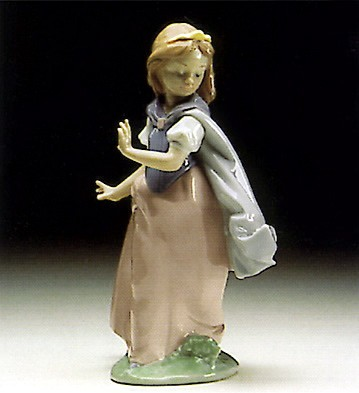 Lladro Young Princess 1993-96 Porcelain Figurine