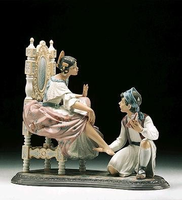 Lladro Allow Me 1994-97 Porcelain Figurine