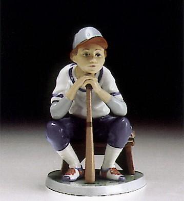 LladroBaseball Player 1994-97Porcelain Figurine