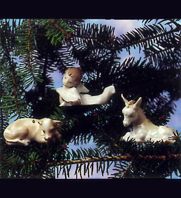 LladroNativity Trio ~ 3 Piece 1993 OnlyPorcelain Figurine