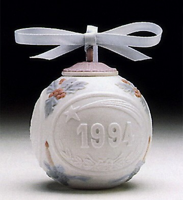 LladroChristmas Ball 1994 OrnamentPorcelain Figurine