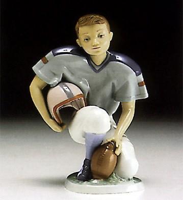LladroAmerican Football Player 1994-97Porcelain Figurine