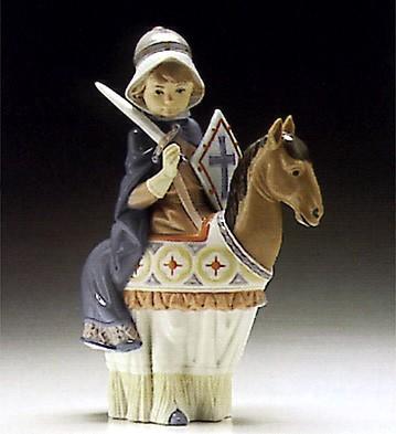LladroMedieval Lord 1994-96 ***Porcelain Figurine