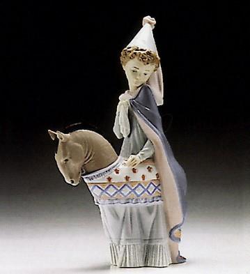 LladroMedieval Princess 1994-96 ***