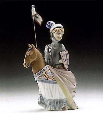LladroMedieval Prince 1994-96 ***Porcelain Figurine