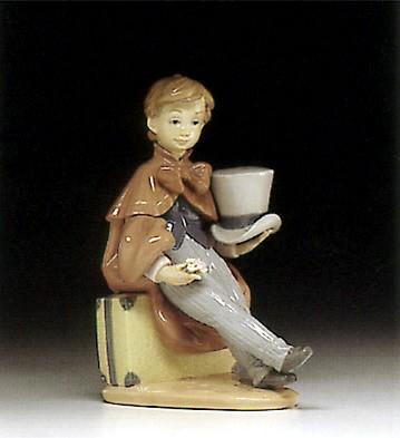 LladroTravellers Rest 1974-97Porcelain Figurine