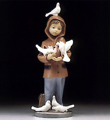 Lladro Little Friends 1994-98 Porcelain Figurine