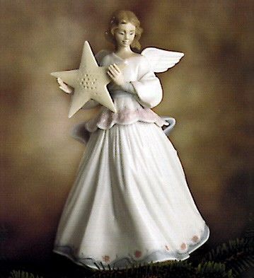 Lladro Angel Of The Stars 1995 Porcelain Figurine