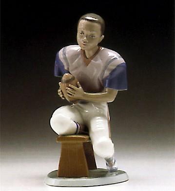 LladroFootball Player 1994-97Porcelain Figurine