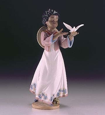 LladroAfrican Love 1994-99Porcelain Figurine