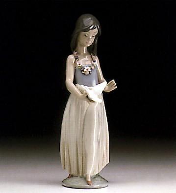 LladroPolynesian Love 1994-99Porcelain Figurine