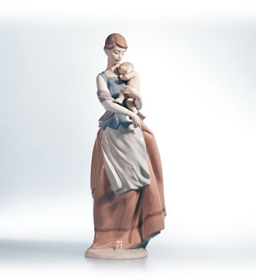 Lladro Peaceful Moment 1995-02 Porcelain Figurine