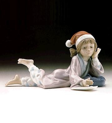 Lladro Christmas Wishes 1996-99 Porcelain Figurine