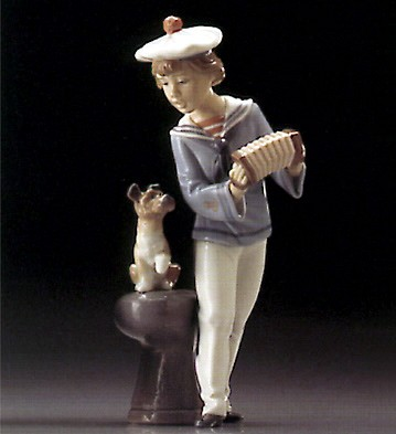 Lladro Seaside Serenade 1995-99*** Porcelain Figurine