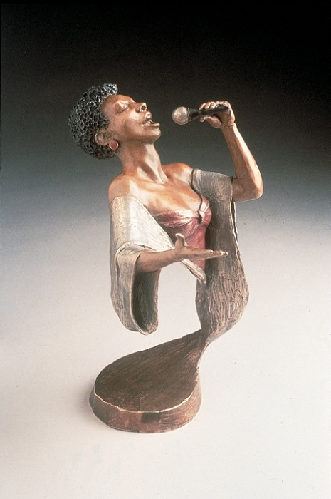 Mark Hopkins Body and Soul Bronze Sculpture