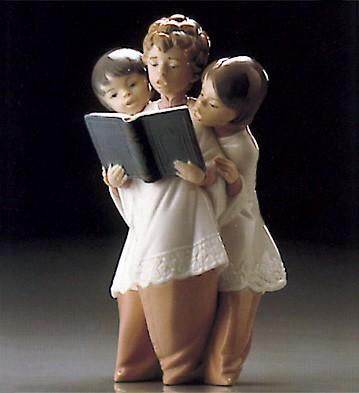 LladroBoys Choir 1995-99 ***Porcelain Figurine