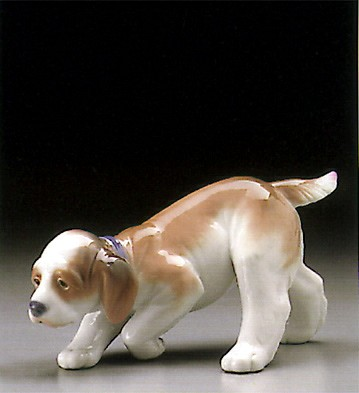 Lladro Little Hunter 1995-00 Porcelain Figurine