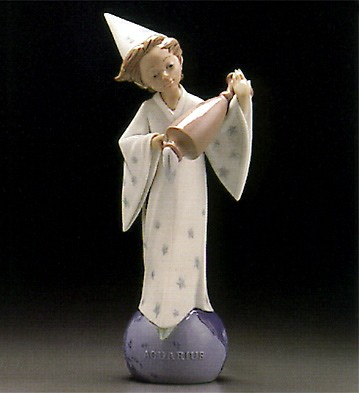 Lladro Aquarius 1995-97 Porcelain Figurine