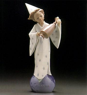LladroZodiac Aquarius 1995-97