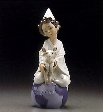 LladroAries 1995-97Porcelain Figurine
