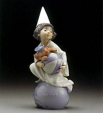 Lladro Cancer 1995-97 Porcelain Figurine