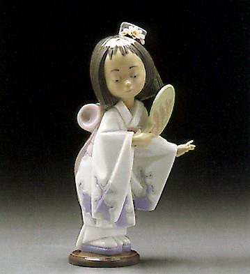 LladroOriental Beauty 1995-00Porcelain Figurine