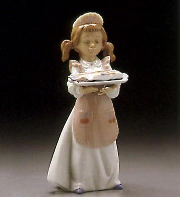LladroDinner Is ServedPorcelain Figurine