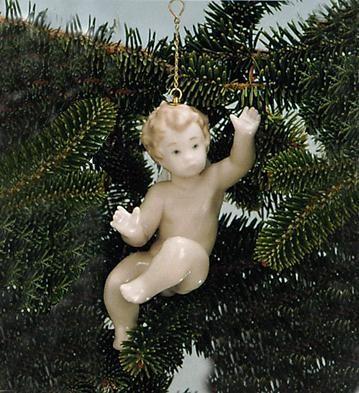 LladroSurprised Cherub 1995-97Porcelain Figurine