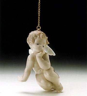 Lladro Thinking Cherub 1995-97