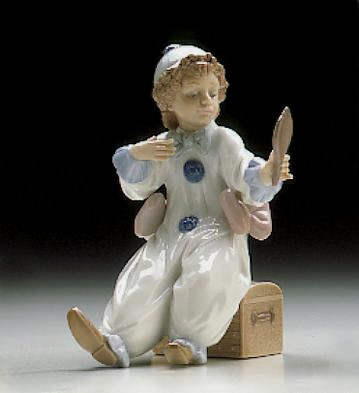 Lladro Perriot In Preperation 1996-99*** Porcelain Figurine