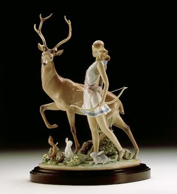 Lladro Diana, Goddess Of The Hunt 1996-2000